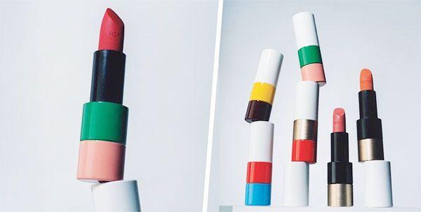 Son Rouge Hermès Satin Lipstick 33 - Orange Boîte cam tươi chính hãng Pháp