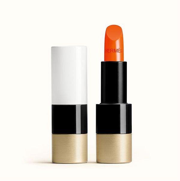 Thiết kế Son Rouge Hermès Satin Lipstick 33 - Orange Boîte cam tươi