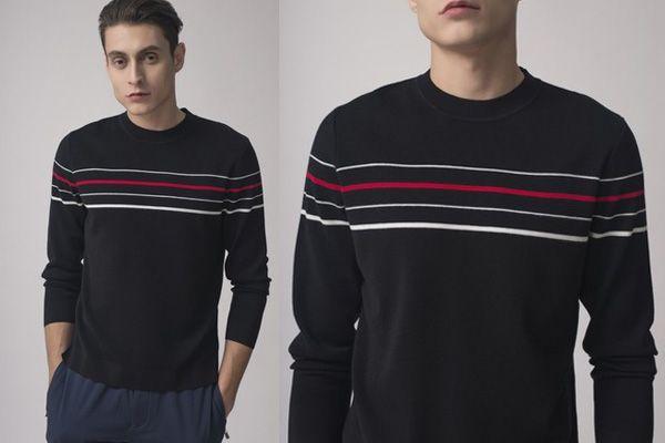 Mua Áo Len Giovanni MA022-BL Màu Đen Size 48 cho Nam, thời trang chính hãng, Giá tốt