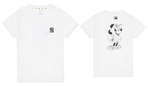 Mua Áo Phông MLB X Disney Short Sleeve T-shirt NewYork Yankees Màu Trắng, chính hãng Hàn Quốc, Giá tốt