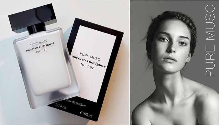 Mùi hương nước hoa Narciso Rodriguez Pure Musc For Her tinh khiết, thanh tao