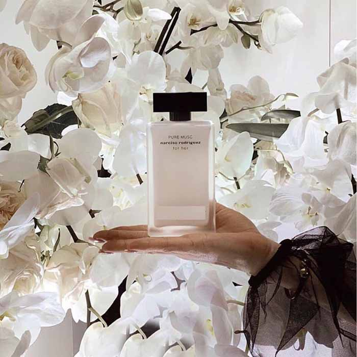 Lịch sử nước hoa Narciso Rodriguez Pure Musc For Her