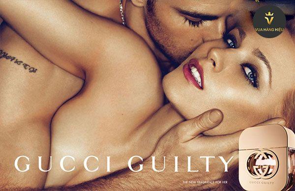 Mùi hương nước hoa Gucci Guilty Women EDT nữ tính dịu dàng