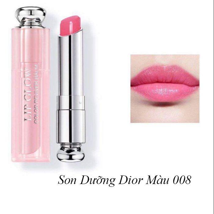 Mua Son Dưỡng Dior Addict Lip Glow Màu 008 Ultra Pink, chính hãng Pháp, Giá tốt