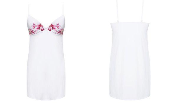 Đặc điểm thiết kế Váy ngủ Corele V Nuisette N024B Trắng Họa Tiết size S