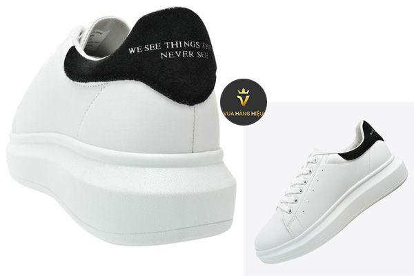 Đặc điểm nổi bật của Giày Domba High Point Sp White/Black H-9011 màu đen trắng