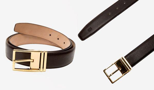 Mua Thắt Lưng Giovanni Sartoria SB010-01-BR-GK Da Bò Màu Nâu Mặt Vàng Size 105, chính hãng, Giá tốt