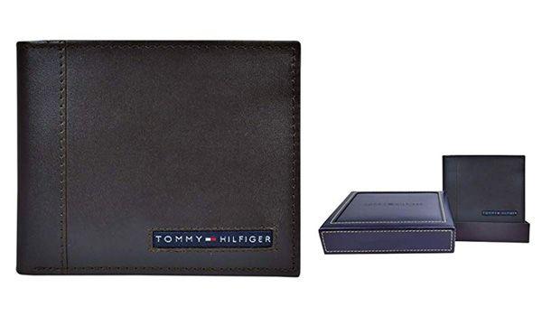 Đặc điểm Ví Nam Tommy Hilfiger Men's Thin Sleek Casual Bifold Wallet