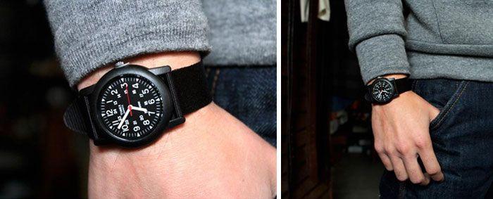 Mua Đồng Hồ Timex T185819J dây dù màu đen cho Nam, máy Quartz, chính hãng Mỹ, Giá tốt