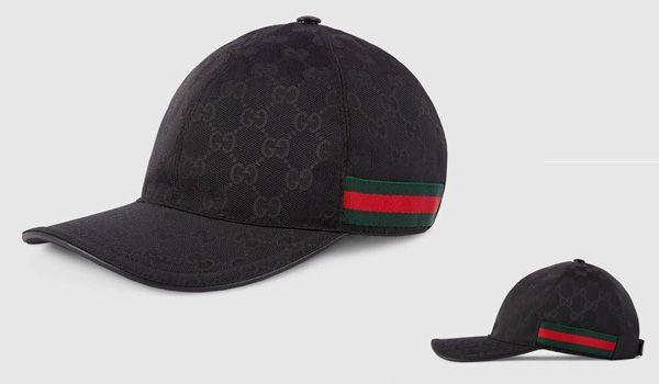 Đặc điểm Mũ Gucci Original GG Canvas Baseball With Web Black Size M