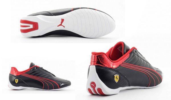 Đặc điểm Giày Puma Ferrari Future Kart Cat 306586-01 Màu đen size 41
