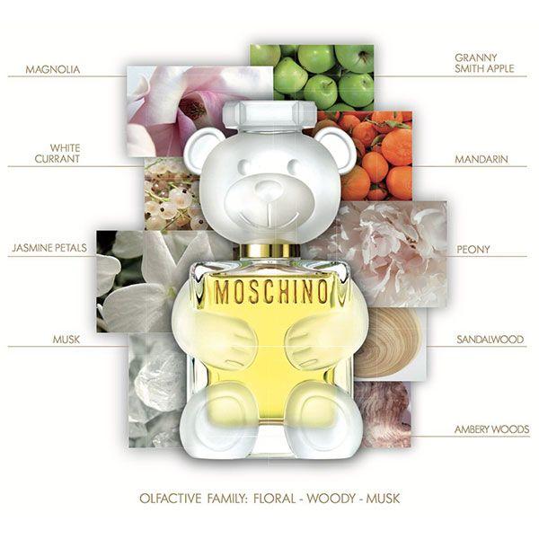 Mùi hương nước hoa Moschino Toy 2 ngọt ngào, tươi trẻ
