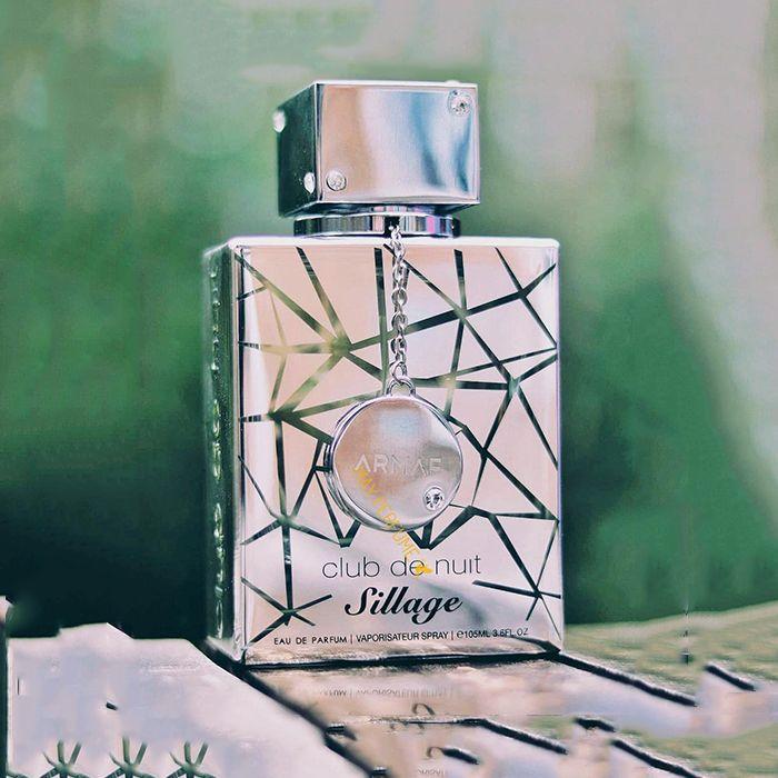 Mùi hương nước hoa Armaf Club The Nuit Sillag cá tính, năng động