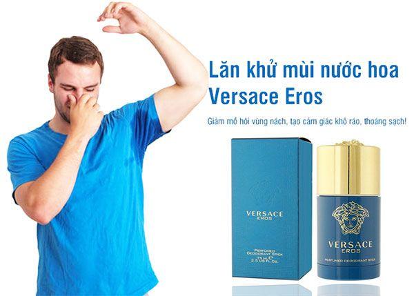 Mùi hương đặc trưng lăn Khử Mùi nước hoa Versace Eros