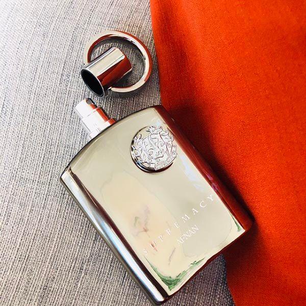 Thiết kế chai nước hoa Afnan Supremacy Silver EDP
