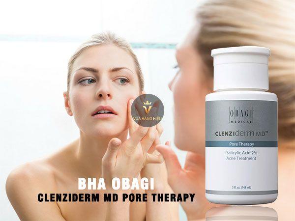 Thành phần Toner Obagi Clenziderm MD Pore Therapy 2% 148ml