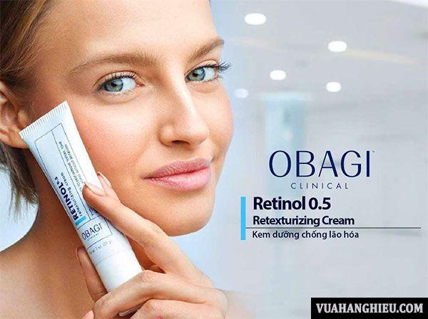 Công dụng kem tái tạo Obagi 360 Retinol 0.5%