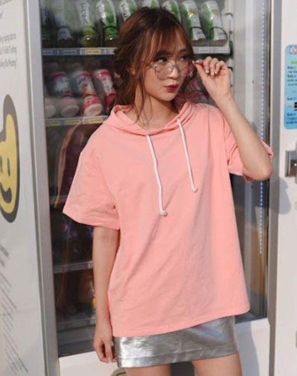 áo thun nữ form rộng dễ thương 12