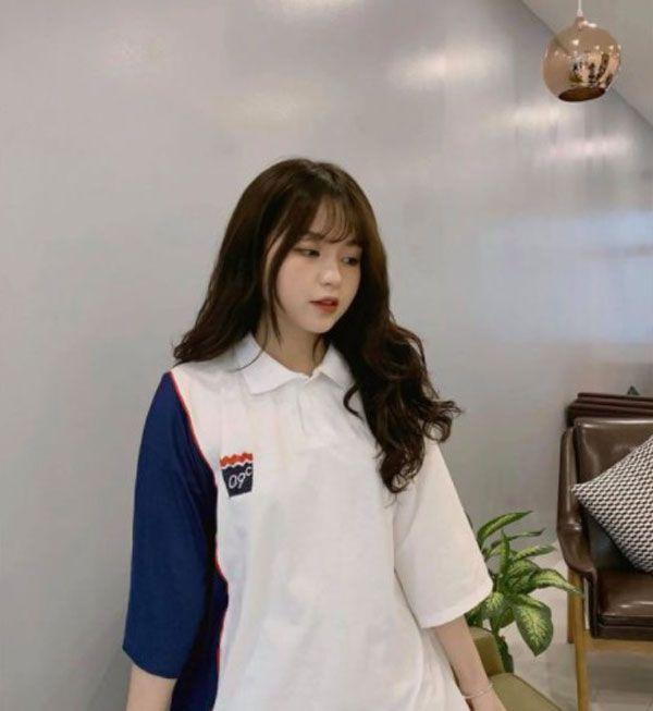 áo thun nữ form rộng dễ thương 5