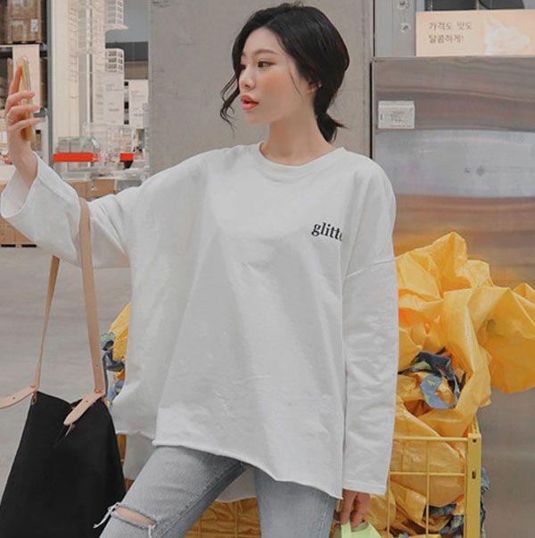 áo thun nữ form rộng dễ thương 8