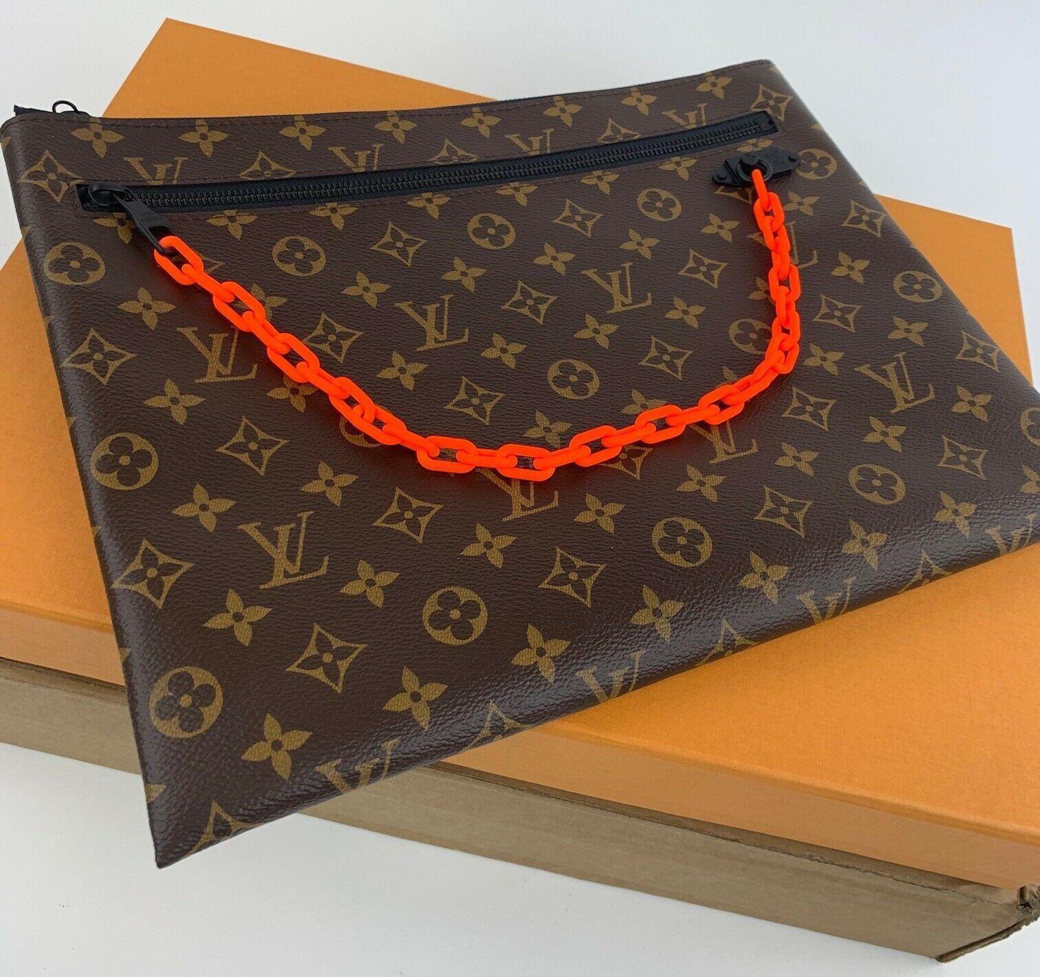 Mua Túi Louis Vuitton Pochette A4 Clutch Cho Nam, màu nâu, Giá Tốt Nhất ảnh 1