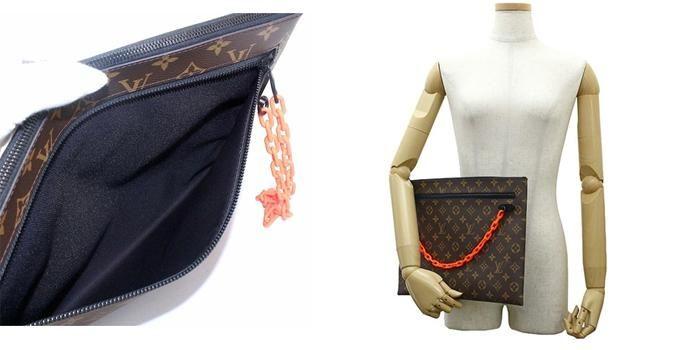 Mua Túi Louis Vuitton Pochette A4 Clutch Cho Nam, màu nâu, Giá Tốt Nhất ảnh 3