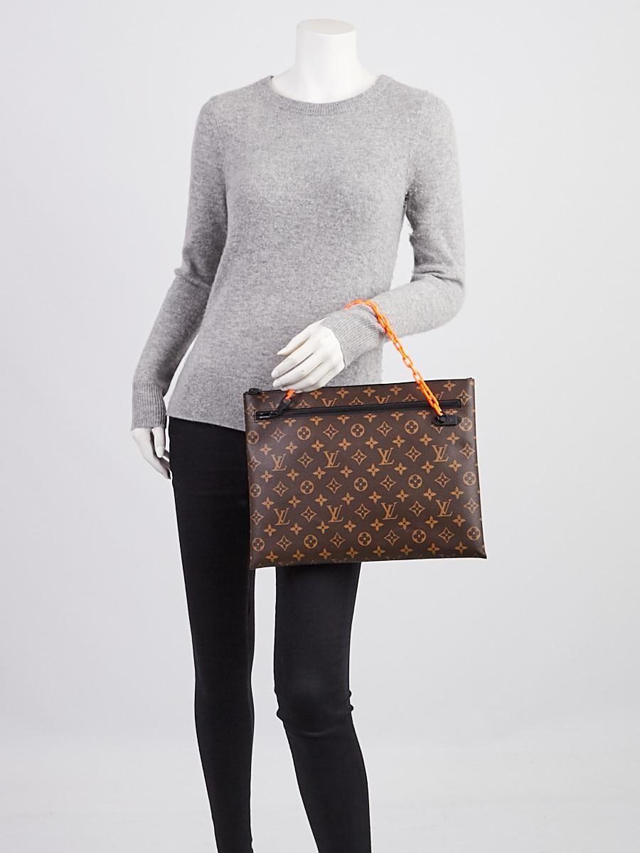 Mua Túi Louis Vuitton Pochette A4 Clutch Cho Nam, màu nâu, Giá Tốt Nhất ảnh 4