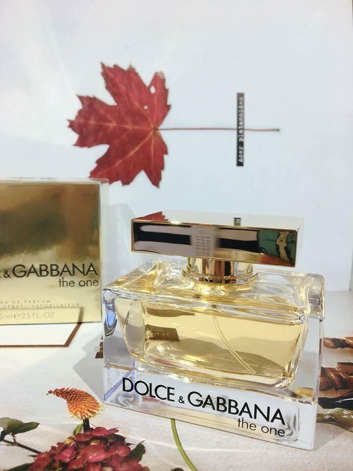 Mua Nước Hoa Nữ Dolce & Gabbana The One Woman EDP 75ml chính hãng - 4