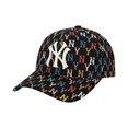 Mũ MLB Monogram Rainbow Structure Ball Cap New York Yankees 32CPFM111-50L