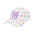 Mũ MLB Monogram Rainbow Structure Ball Cap New York Yankees 32CPFM111-50W