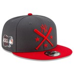 Mũ Men's New York Yankees New Era Graphite/Red 2019 MLB All-Star Workout 9FIFTY Snapback Adjustable Hat