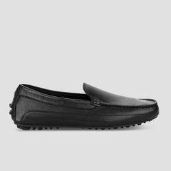 Giày Lười Nam Sledgers Valencia 0118A5129L Màu Đen Size 39
