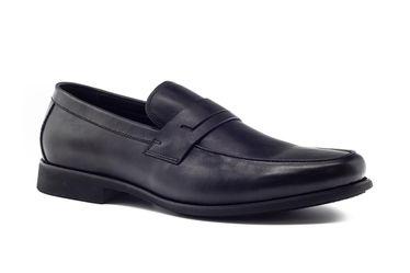 Giày Lười Nam Sledgers Montpellier 0118A5150L Màu Đen Size 39