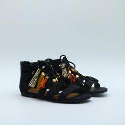 Sandals giả da nữ Aokang 172831177