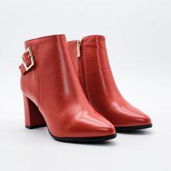 Giày boot da nữ Aokang 182911351