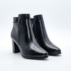 Giày boot da nữ Aokang 182911354
