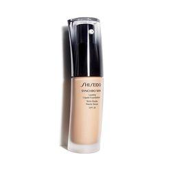 Kem nền dạng lỏng ban ngày Shiseido Synchro Skin Lasting Liquid Foundation SPF 20