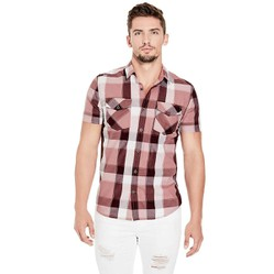 Áo Sơ Mi Guess Regular Fit SS Grant 2 PKT Plaid