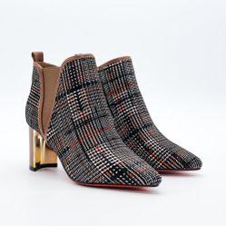 Giày boot da nữ Aokang 182911384
