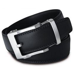 Thắt Lưng Nam Viniciobelt Holeless Leather Ratchet Click Đen L