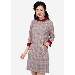 Váy Suông Heradg WDC18089 Caro Màu Đỏ