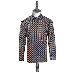 Áo Burberry London England Equestrian Knight Long Sleeve Check Drawcord Shirt