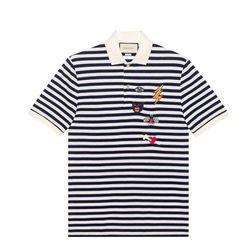 Áo Gucci Cotton Polo With Embroideries