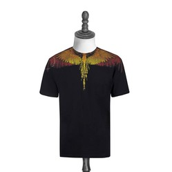 Áo Marcelo Burlon Wings Multicolor T-Shirt Ss2019
