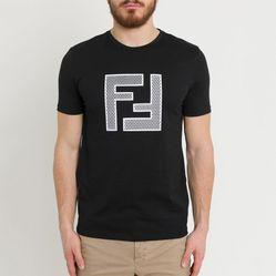 Áo Phông Fendi Ff Mesh Light Jersey T-Shirt