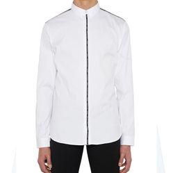 Áo Sơ Mi Dior Homme Atelier Ribbon White Shirt New Season