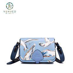 Túi Venuco  Nắp Ngươc FB - Xanh (B15F16)