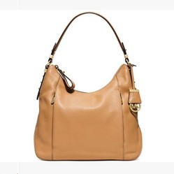 Túi Xách Michael Kors Bowery Large Leather Shoulder Màu Nâu