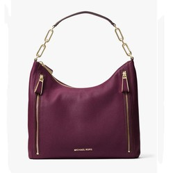 Túi Xách Michael Kors Matilda Large Leather Shoulder Bag Màu Tím