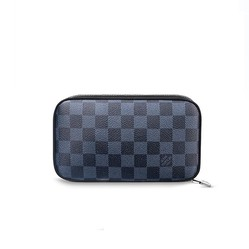Ví Louis Vuitton Zippy Soft Damier Cobalt Canvans Small Leather Goods